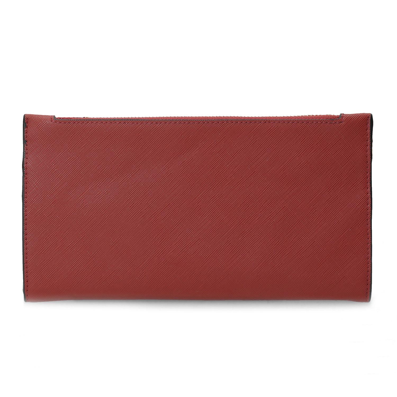 Baťa Dámska červená peňaženka s remienkom - Peňaženky  d7776ddb3c7