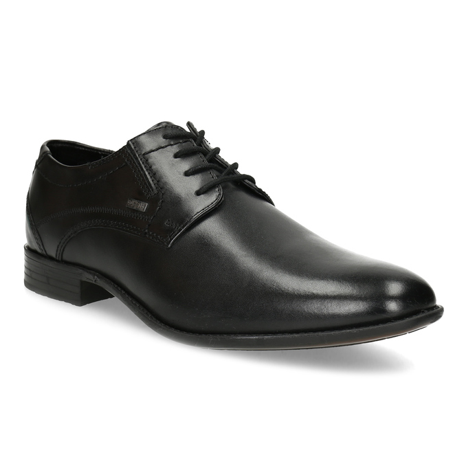 3582710076 Bugatti Kožené čierne derby pánske poltopánky - Všetky topánky