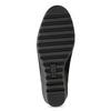 Čierna dámska obuv na kline comfit, čierna, 619-6600 - 18