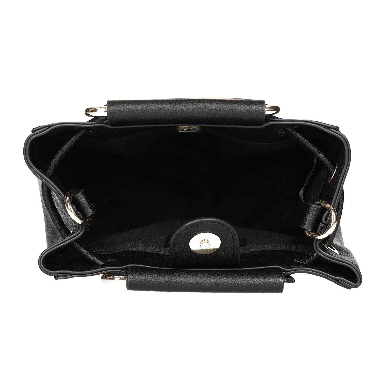 Baťa Dámska čierna kabelka s kovovými rúčkami - Kabelky  b22fe7a5b44