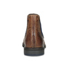 Kožená hnedá členková obuv bugatti, hnedá, 816-4065 - 15