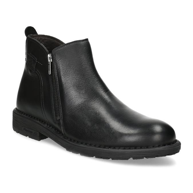 Fluchos Zimná členková pánska obuv kožená - Zimná obuv  4c1f3aaf27f