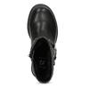 Detské čierne čižmy s mašľou mini-b, čierna, 291-6132 - 17