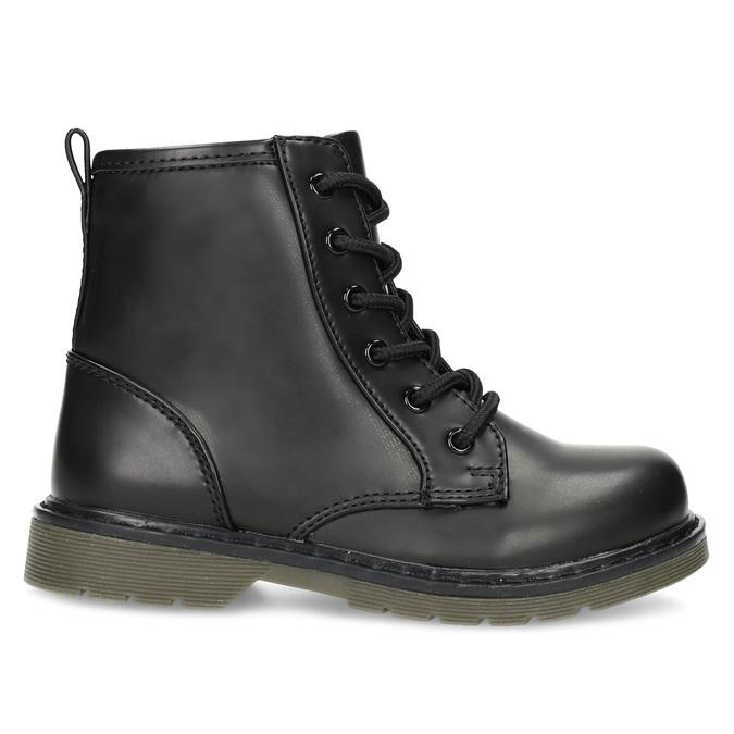 Chlapčenská čierna členková obuv mini-b, čierna, 291-6407 - 19