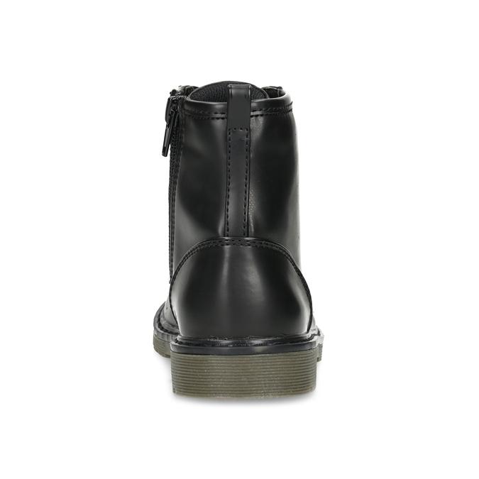 Chlapčenská čierna členková obuv mini-b, čierna, 291-6407 - 15