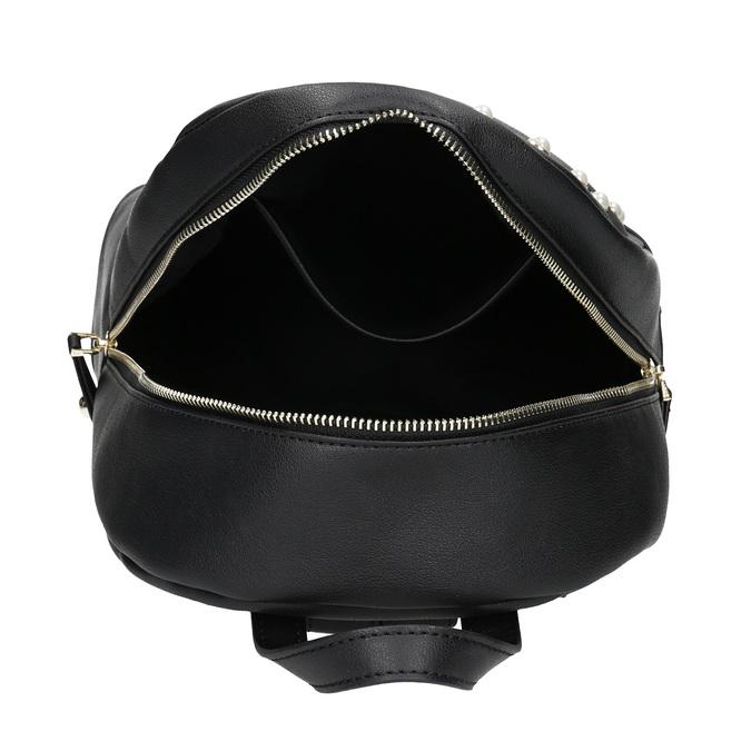 Mestský batôžtek s perličkami bata, čierna, 961-6906 - 15