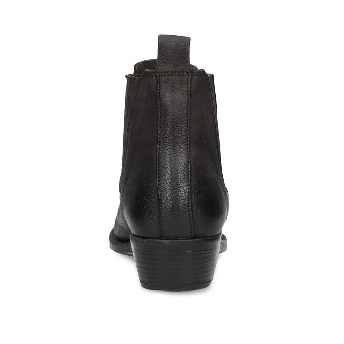 Dámska hnedá členková obuv s pružením bata, hnedá, 596-4969 - 15