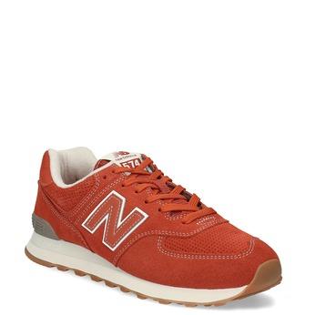 Červené pánske športové tenisky new-balance, oranžová, 803-5174 - 13