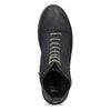 Kožená dámska členková obuv bata, modrá, 596-9709 - 17
