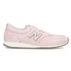 Ružové dámske tenisky z brúsenej kože new-balance, ružová, 503-5172 - 19