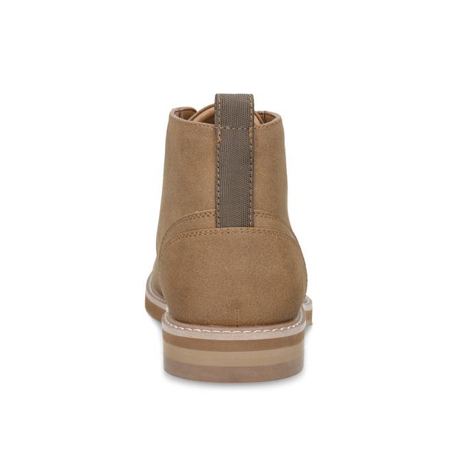 Pánska členková béžová obuv bata-red-label, hnedá, 821-3608 - 15
