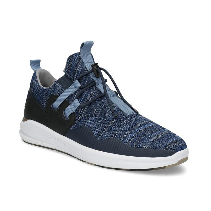 Slip-on modré tenisky bata-red-label, modrá, 841-9620 - 13