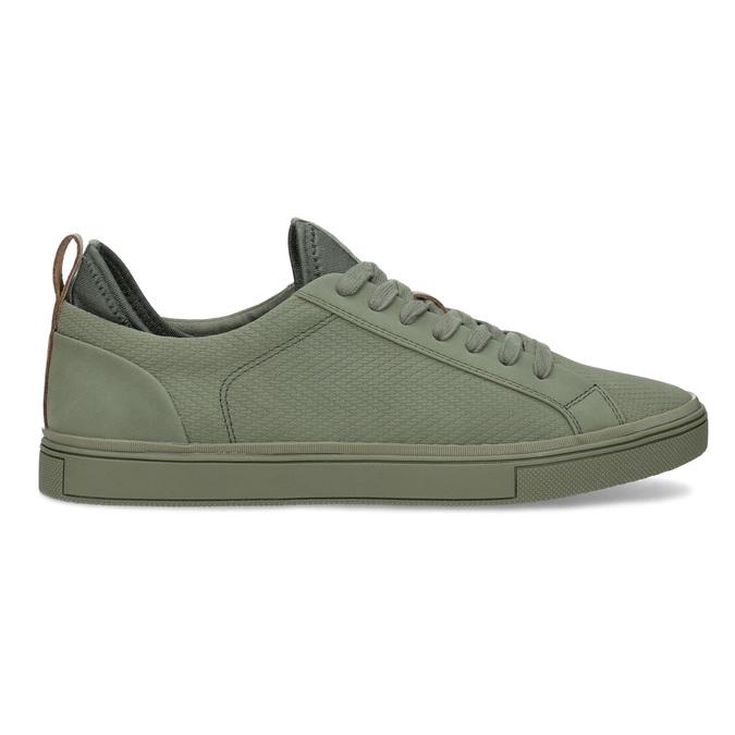 Pánske khaki tenisky bata-red-label, zelená, 841-7623 - 19