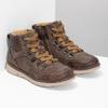 Hnedá detská členková obuv na zips mini-b, hnedá, 311-4614 - 26