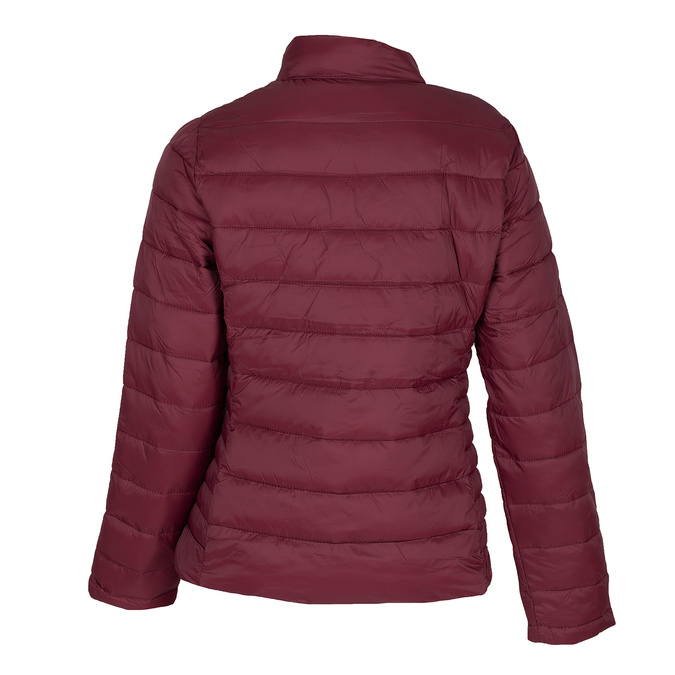 Dámska červená bunda s prešitím bata, červená, 979-5361 - 26