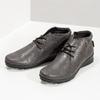 Dámska kožená členková obuv comfit, hnedá, 596-4707 - 16