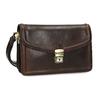Kožená pánska taška do ruky bata, hnedá, 964-4315 - 13