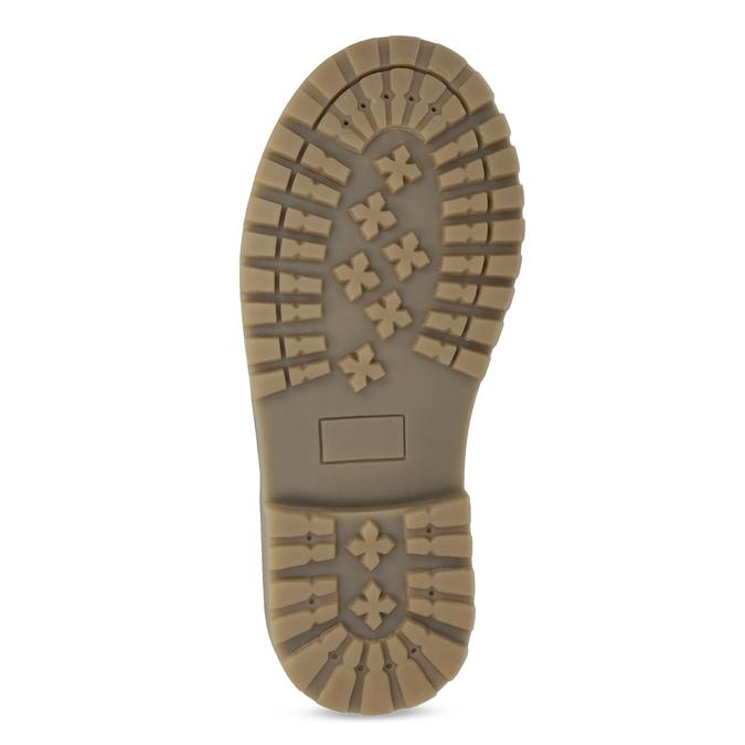 Dievčenské čižmy  s kožúškom a výšivkou mini-b, modrá, 391-9671 - 18