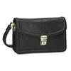 Čierna pánska kožená taška do ruky bata, čierna, 964-6315 - 13