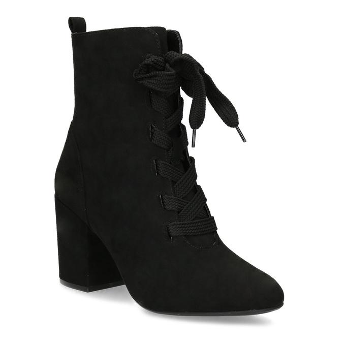 Bata Red Label Dámske čierne čižmy so šnurovaním - Všetky topánky ... 9713a02a80e