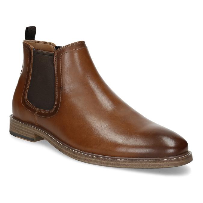 Pánska hnedá Chelsea obuv bata-red-label, hnedá, 821-3611 - 13