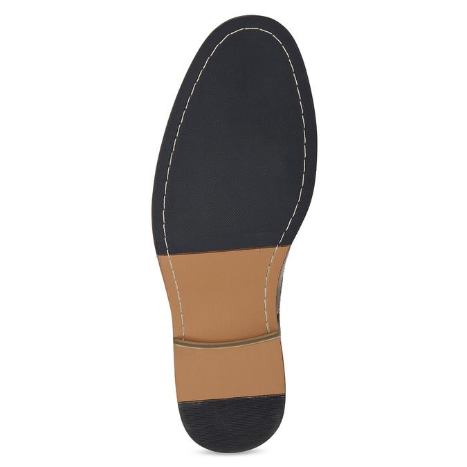 Pánska hnedá Chelsea obuv bata-red-label, hnedá, 821-3611 - 18