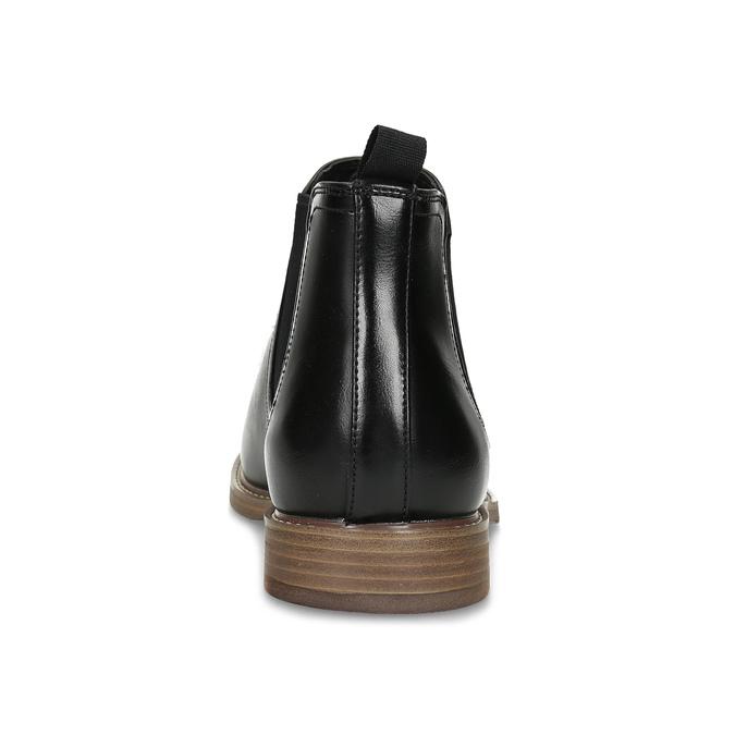 Čierna pánska Chelsea obuv bata-red-label, čierna, 821-6611 - 15