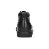 Pánska kožená členková obuv comfit, čierna, 894-6701 - 15
