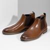 Pánska hnedá Chelsea obuv bata-red-label, hnedá, 821-3611 - 16