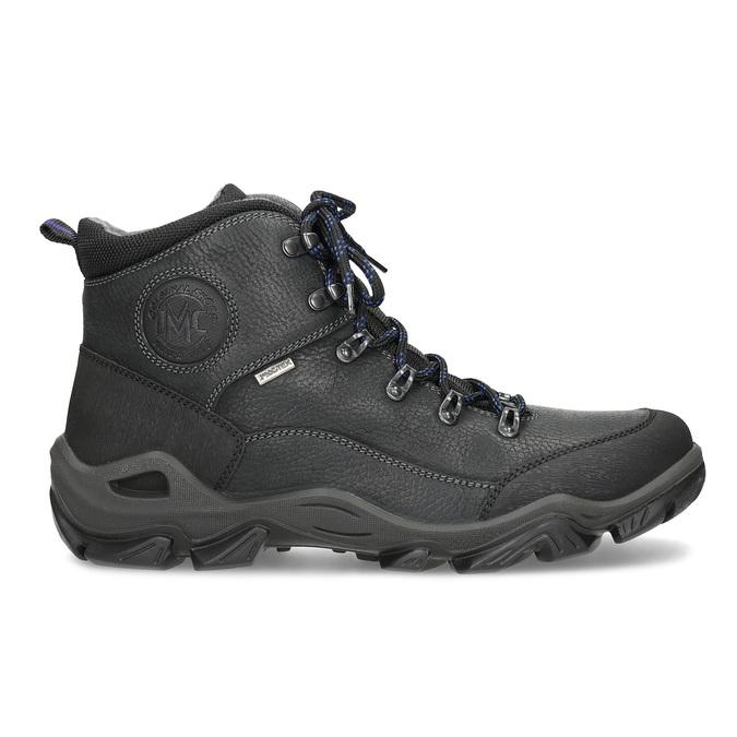 Pánska kožená outdoor obuv weinbrenner, čierna, 896-6706 - 19
