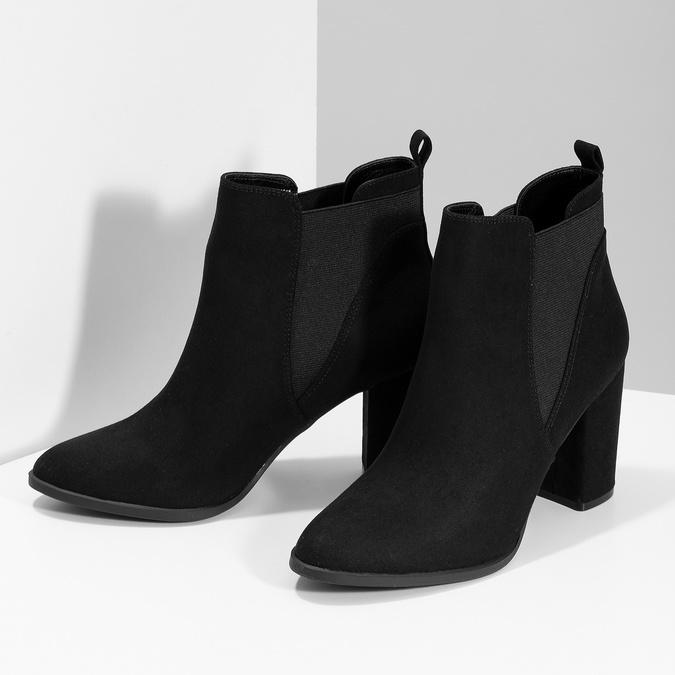 Členková dámska obuv v Chelsea štýle bata-red-label, čierna, 799-6629 - 16