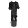 Dámske čierne snehule s kožúškom bata, čierna, 592-6602 - 15