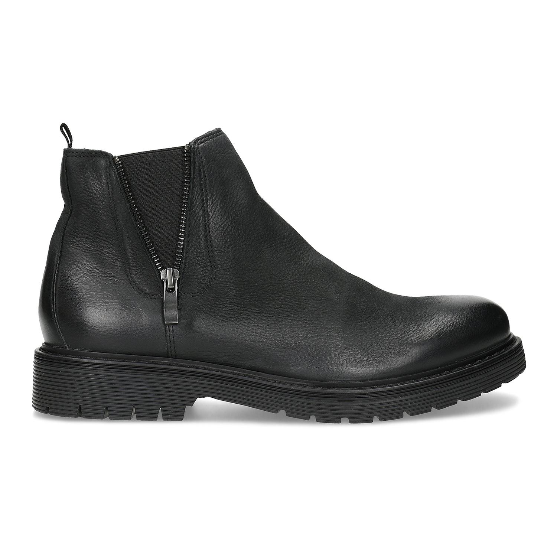 Baťa Kožená pánska zimná obuv v Chelsea štýle - Urban Soldier  37acdeca97a
