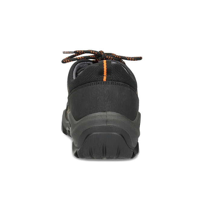 Pánska kožená obuv s masívnou podrážkou weinbrenner, hnedá, 846-4806 - 15