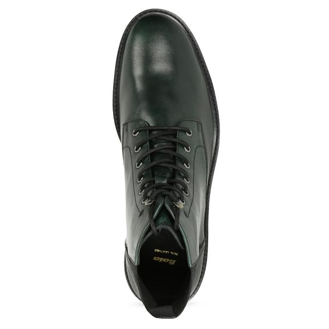 Pánska členková obuv tmavozelená bata, zelená, 896-7722 - 17