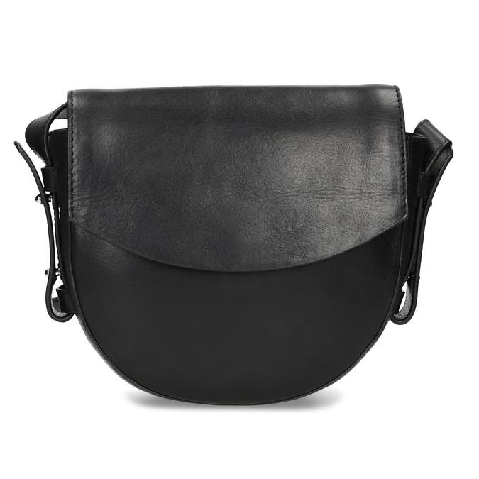Baťa Kožená čierna Crossbody kabelka - Najpredávanejšie  dca8fc67768