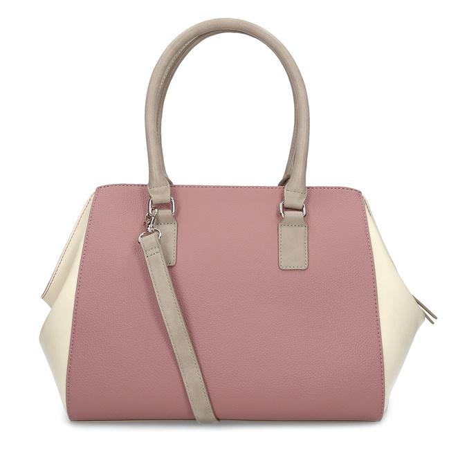 Dámska staroružová kabelka bata-red-label, ružová, 961-5928 - 16