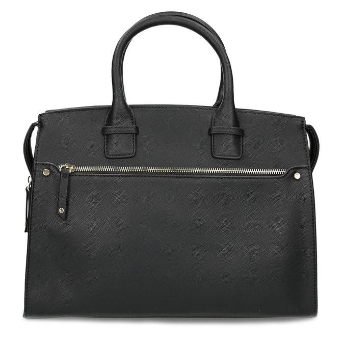 Dámska čierna kabelka bata, čierna, 961-6916 - 26