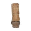 Dámska hnedá kožená členková obuv weinbrenner, hnedá, 696-3668 - 15
