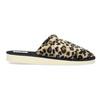 Dámske domáce nazuváky s leopardím vzorom bata, hnedá, 579-8639 - 19