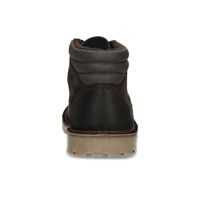 Hnedá pánska kožená členková obuv weinbrenner, hnedá, 896-4630 - 15