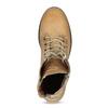 Dámska hnedá kožená členková obuv weinbrenner, hnedá, 696-3668 - 17