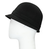 Čierny dámský klobúk s perličkami bata, čierna, 909-6283 - 26