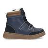 Detské modré kožené zimné topánky mini-b, modrá, 294-9601 - 19