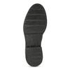 Šedá dámska kožená Chelsea obuv bata, šedá, 593-2617 - 18