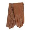 Dámske hnedé prešívané kožené rukavičky bata, hnedá, 904-3108 - 13
