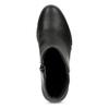 Dámska čierna členková obuv na kline bata-b-flex, čierna, 791-6630 - 17