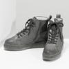 Členková dámska kožená zimná obuv bata, šedá, 596-2713 - 16