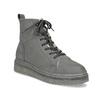 Členková dámska kožená zimná obuv bata, šedá, 596-2713 - 13