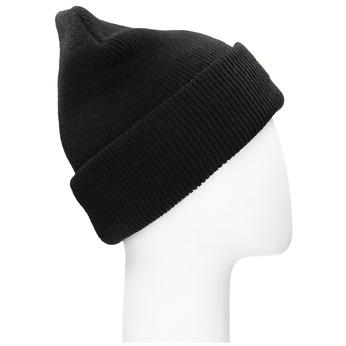Čierna pánska čapica weinbrenner, čierna, 909-6727 - 13
